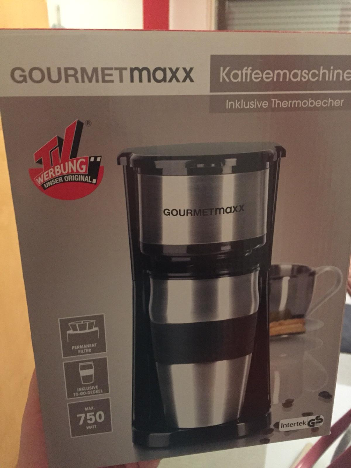 Kaffeemaschine to Go mit Thermobecher Kaffeefilter