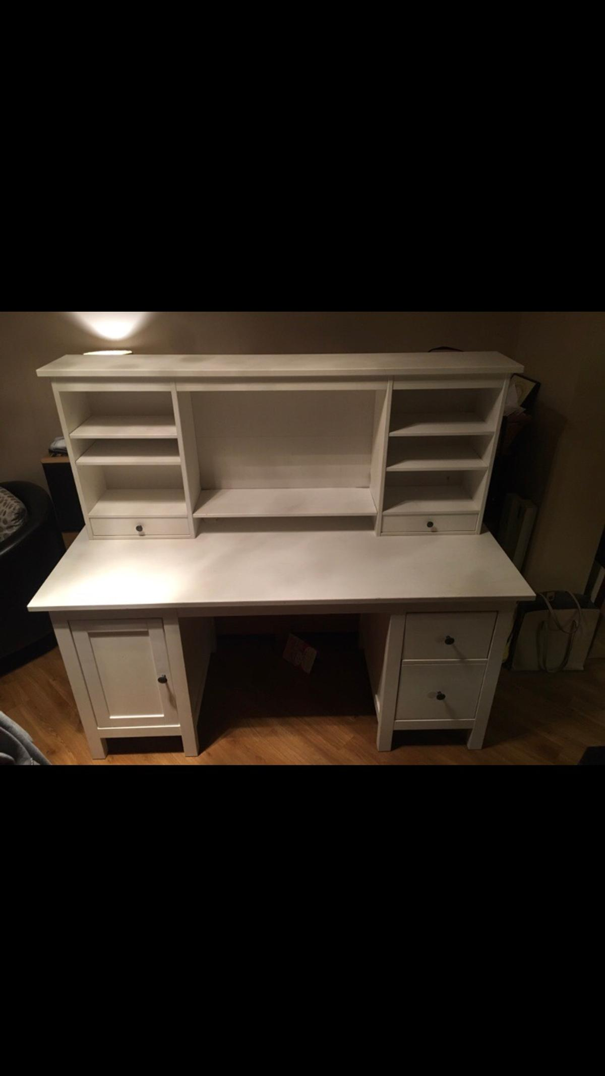 Hemnes Desk From Ikea With Topper