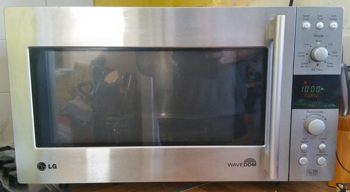 Lg 8486nl Wavedom Combi Microwave Oven
