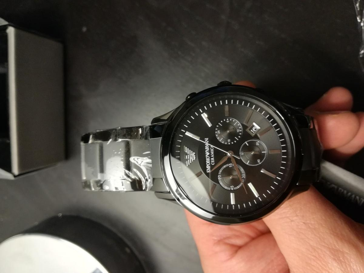 official photos buying now look good shoes sale Emporio Armani AR1451 Men's Watch New in M14 Manchester for ...