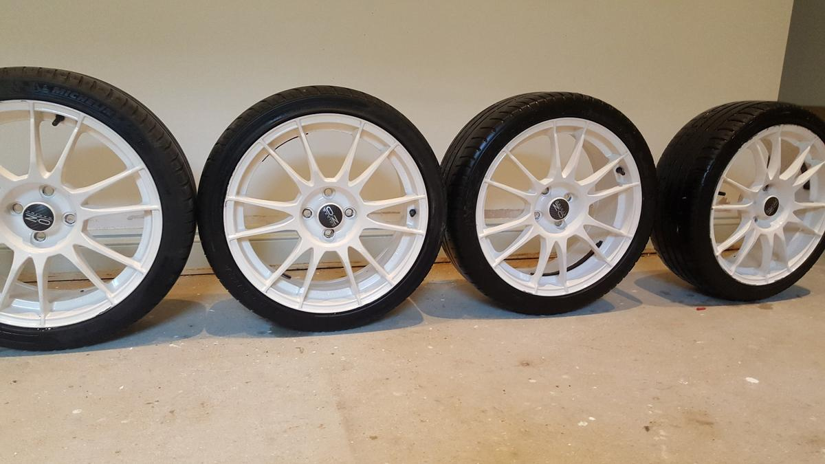 4 x 17 Inch OZ Racing wheels in BN1 Hove for £150.00 for ...