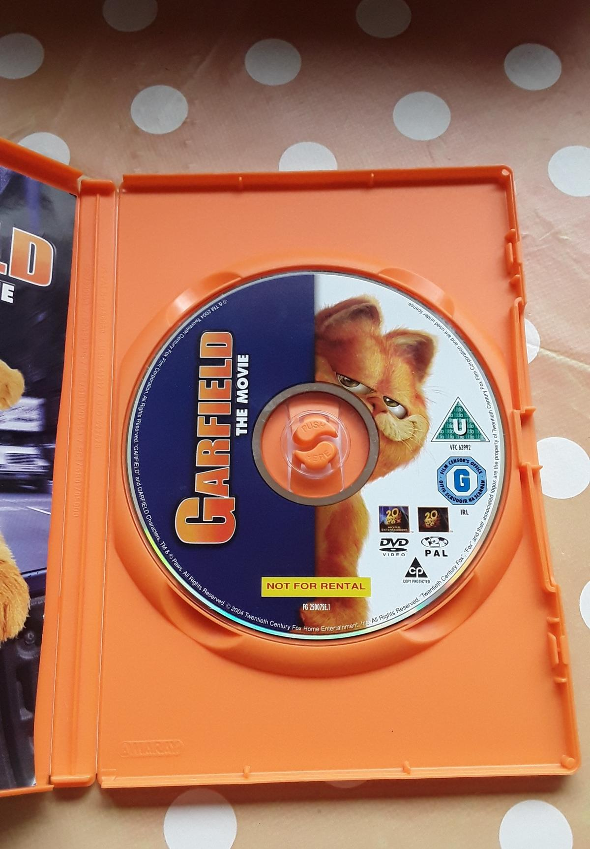 Garfield The Movie Dvd In Ws15 Lichfield For 0 50 For Sale Shpock