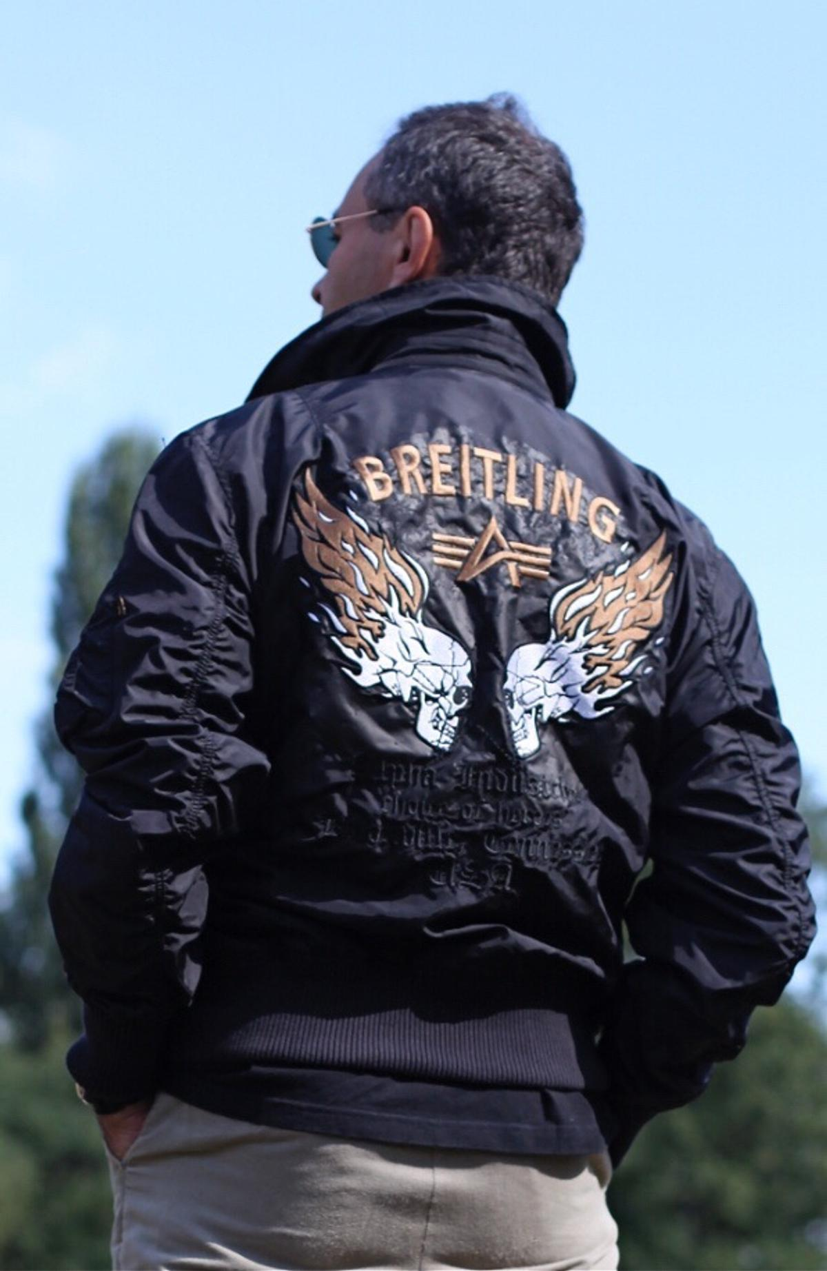 new styles 3e38f d8a16 ALpha Industry Breitling Air Race jacket! in SW5 Chelsea für ...