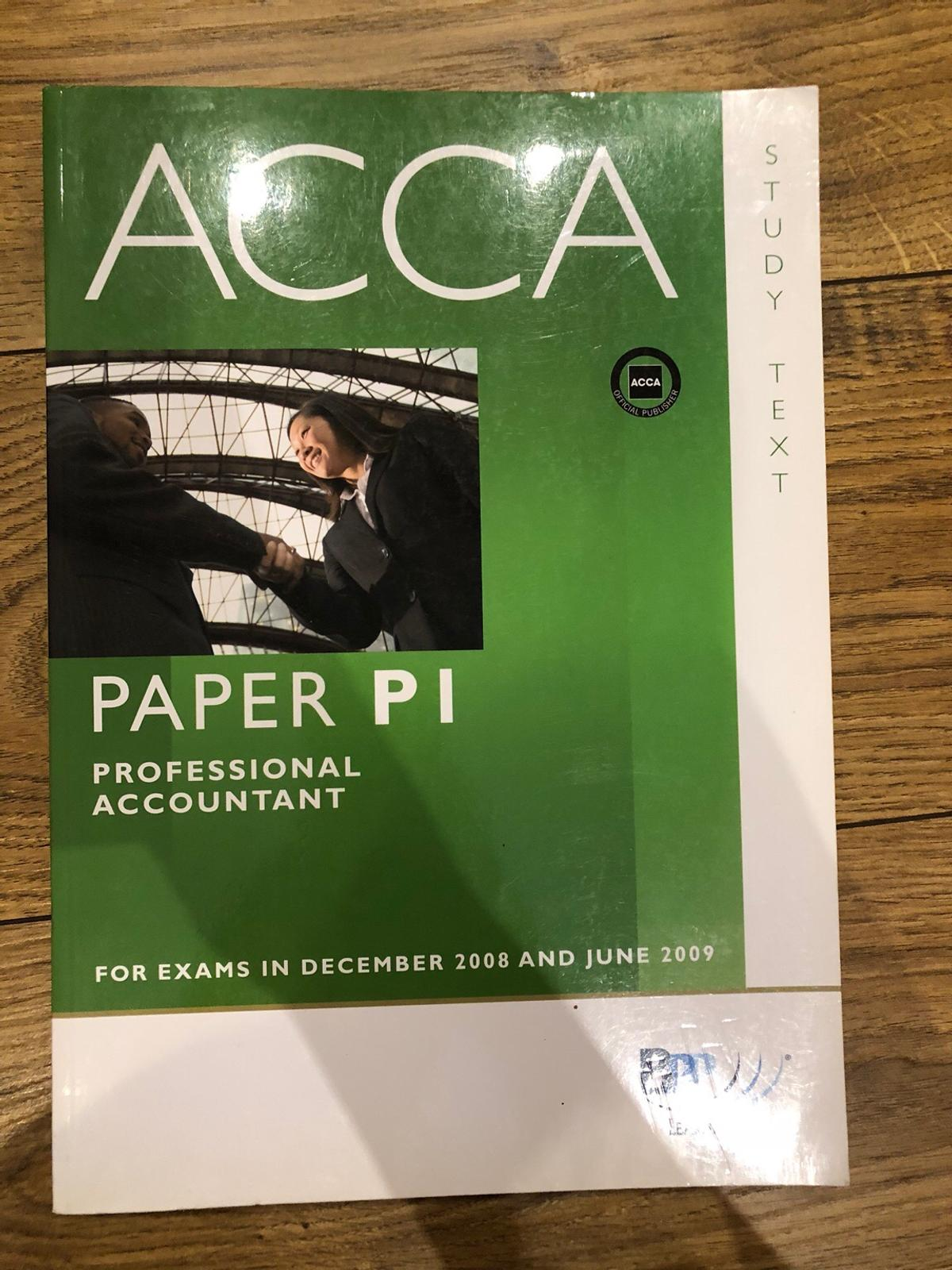 BPP ACCA accounting book bundle in London Borough of Bromley for
