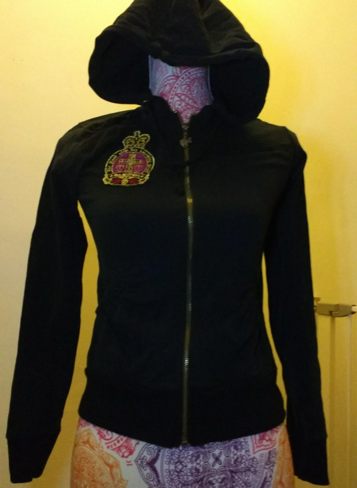 PUNKY FISH ZIP-UP JACKET WITH PATCHES