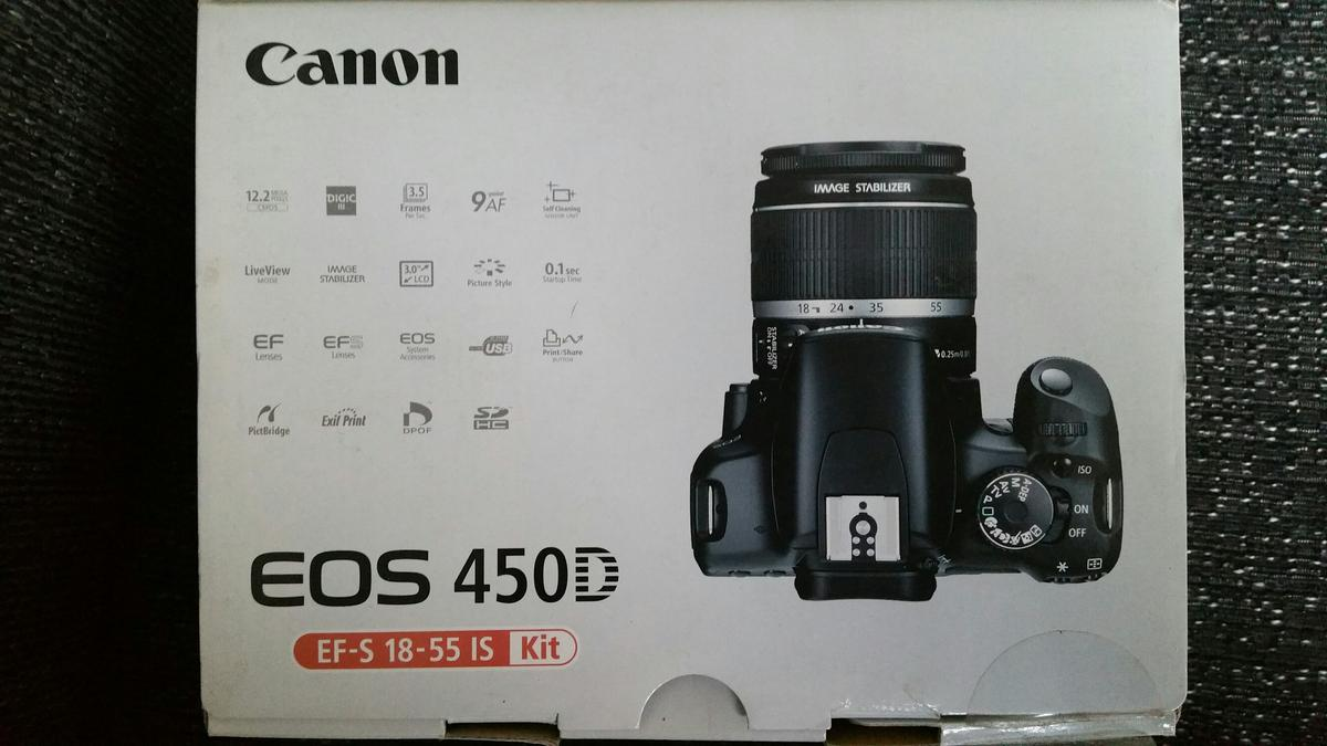 Canon EOS 450D Camera Body + Accessories