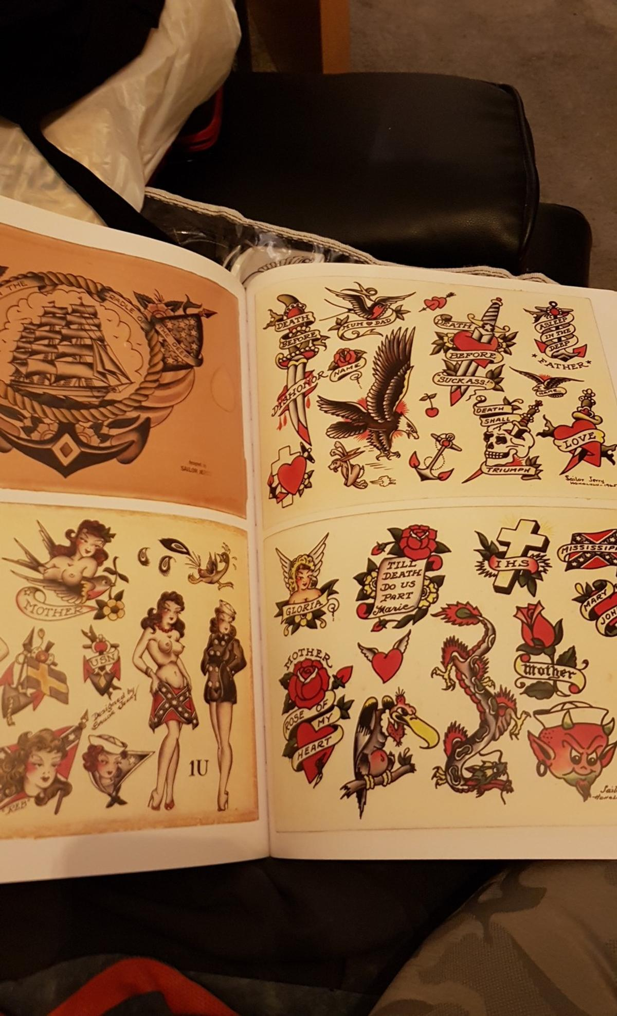 Sailor Jerry Treasure Chest Tattoo Book In E4 London Borough Of Waltham Forest For 40 00 For Sale Shpock