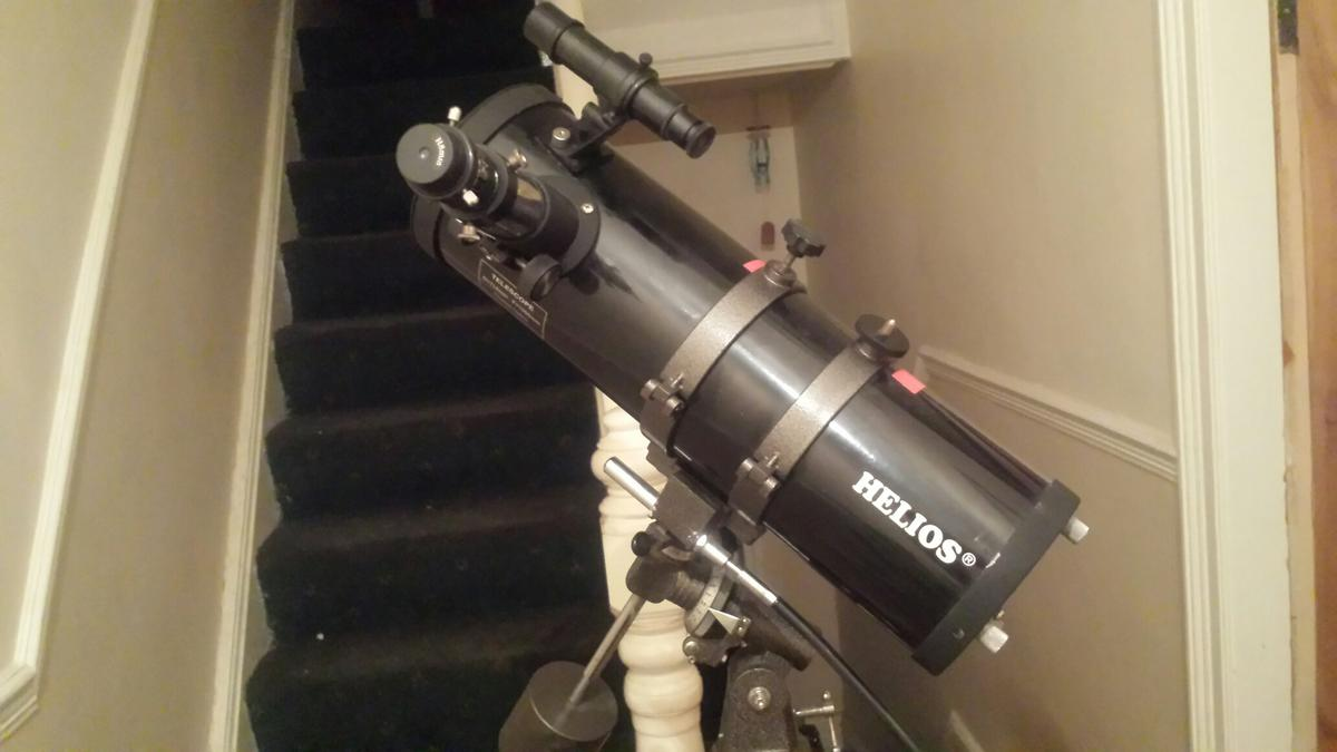 Helios telescope in ch44 wirral for £45.00 for sale shpock