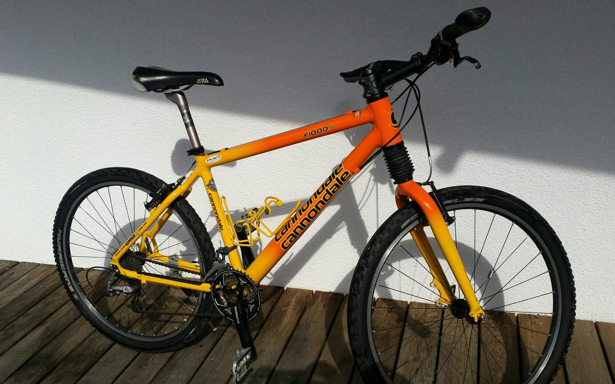 Cannondale F1000SL Mountainbike 26 Zoll in 6363 Westendorf