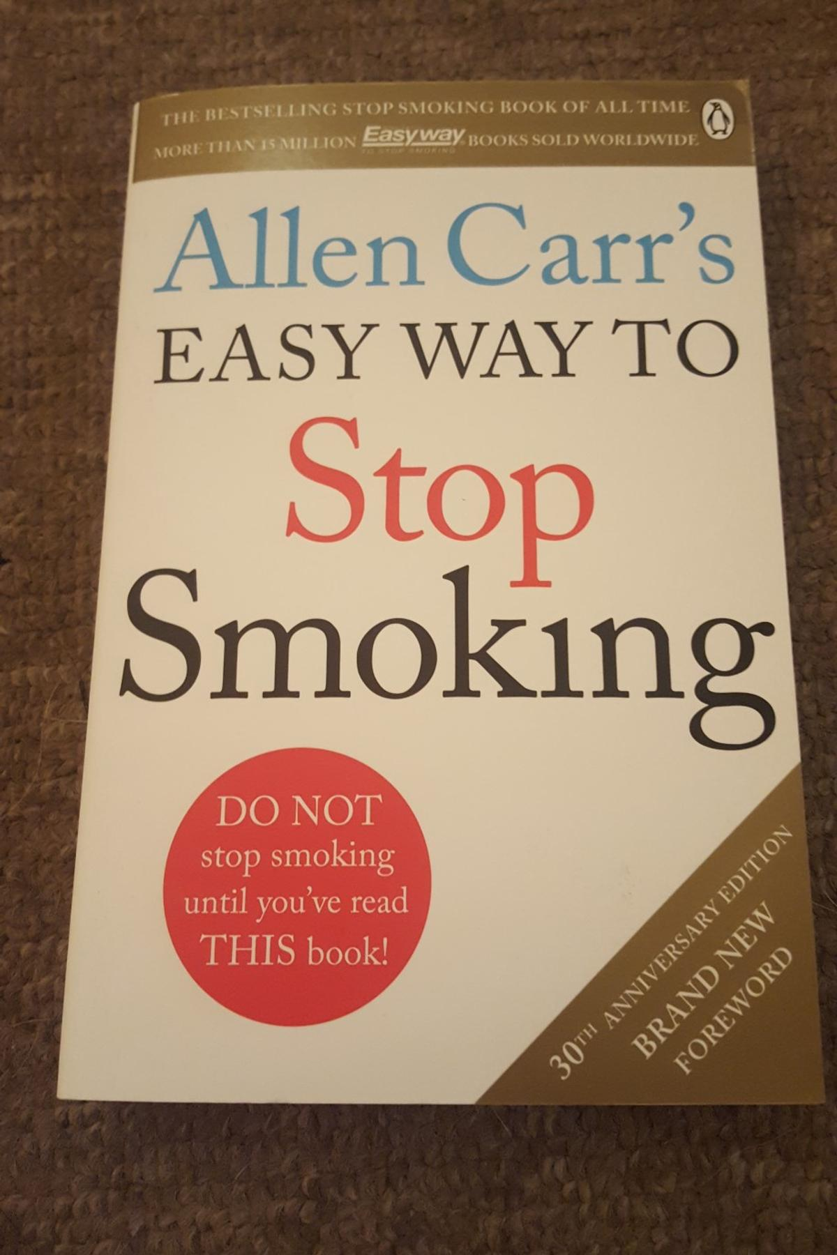 how to quit smoking the book