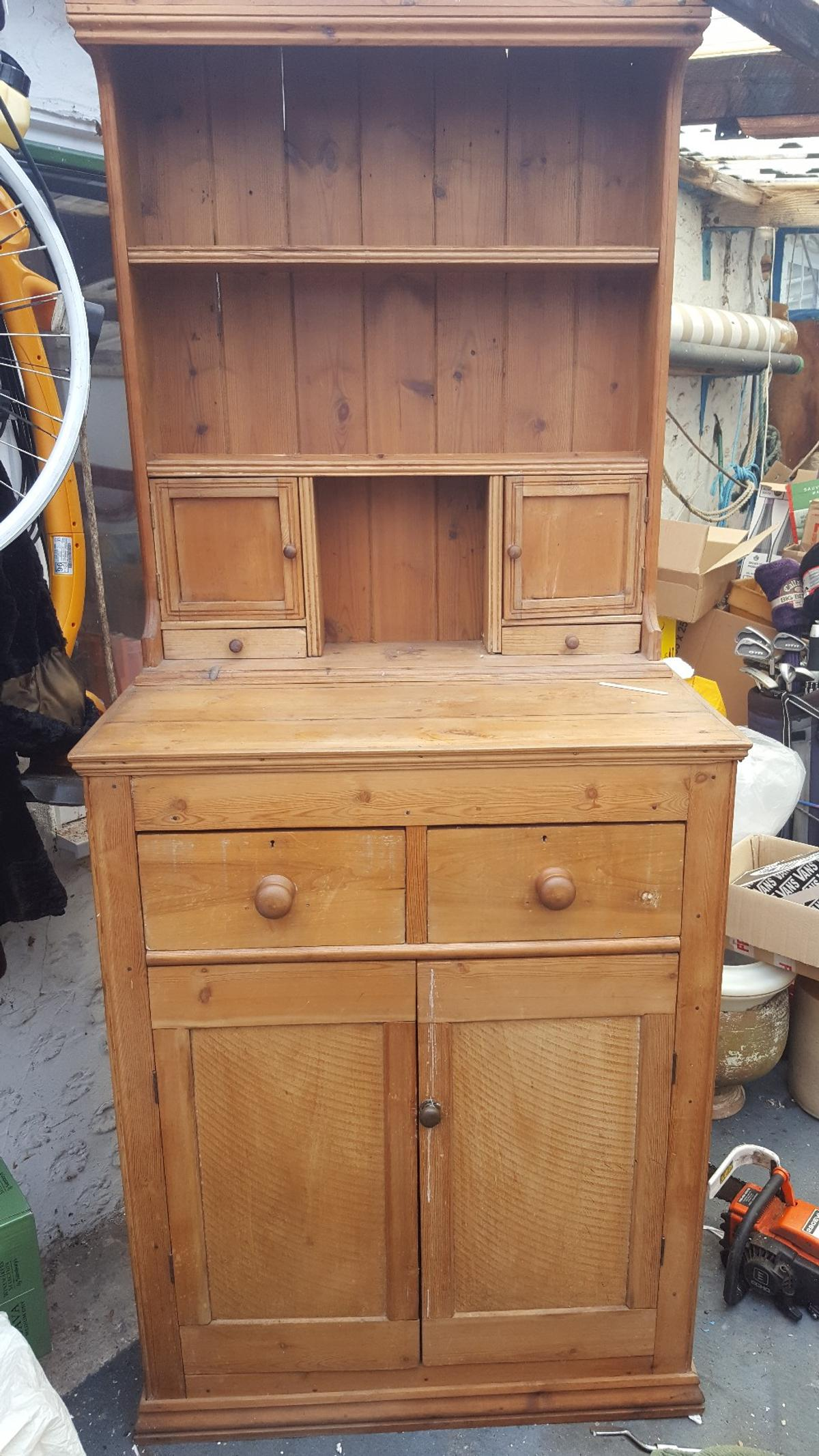 Picture of: Antique Pine Dresser Sold In Tn29 Shepway For 150 00 For Sale Shpock