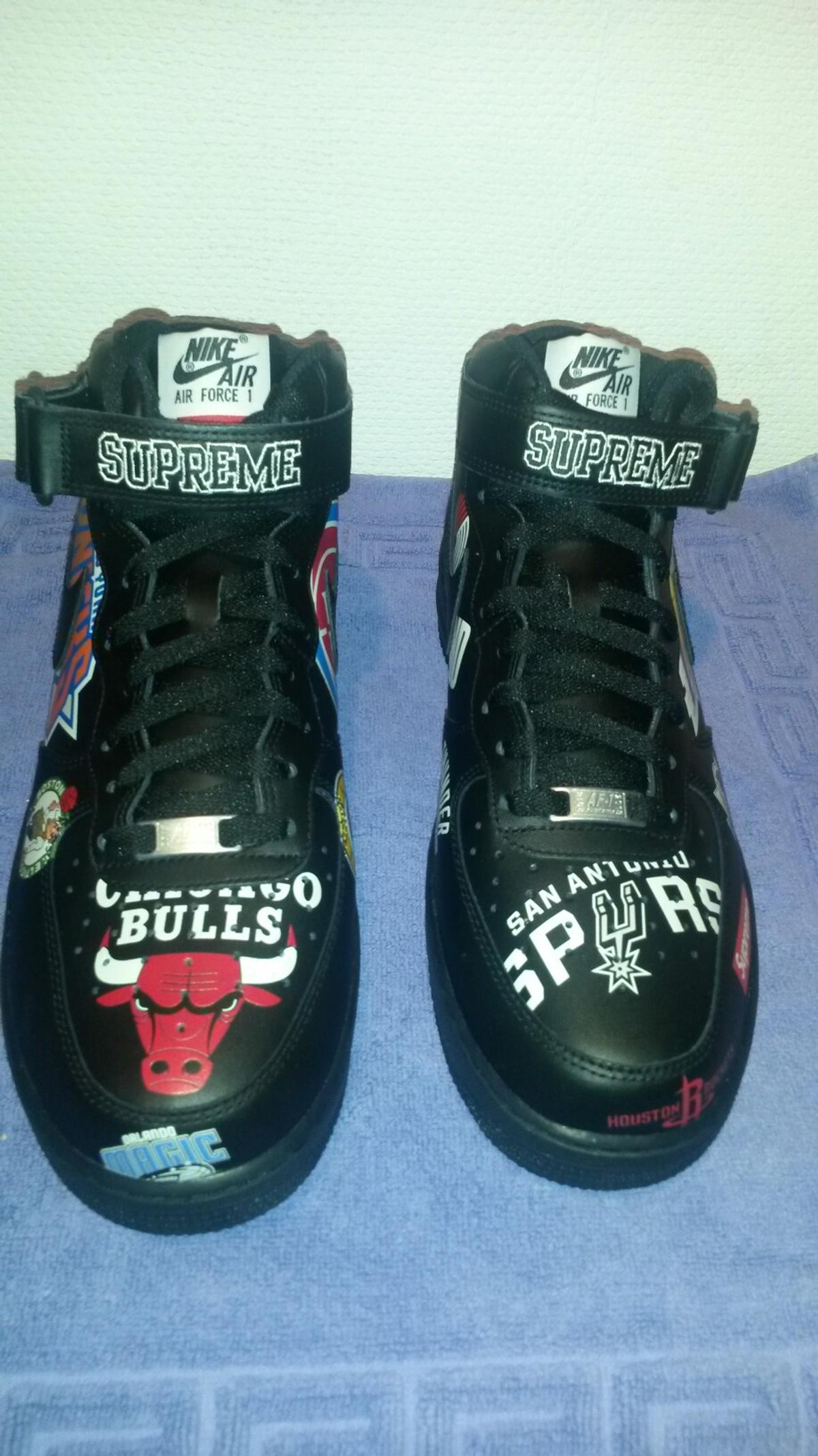 Nike x Supreme Air Force 1 Mid NBA Neu 43 9,5 in 80335 München for ...