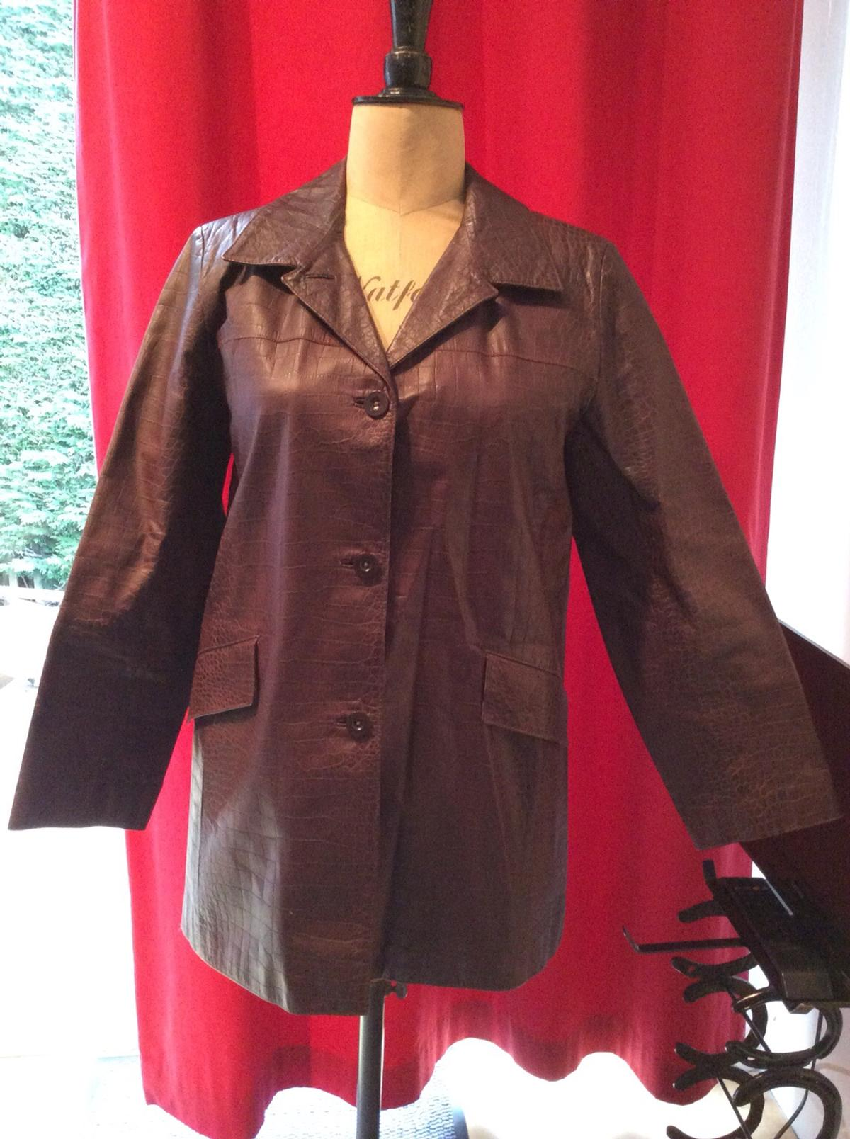 Ladies Austin Reed Leather Jacket In Maxwellheugh For 80 00 For Sale Shpock