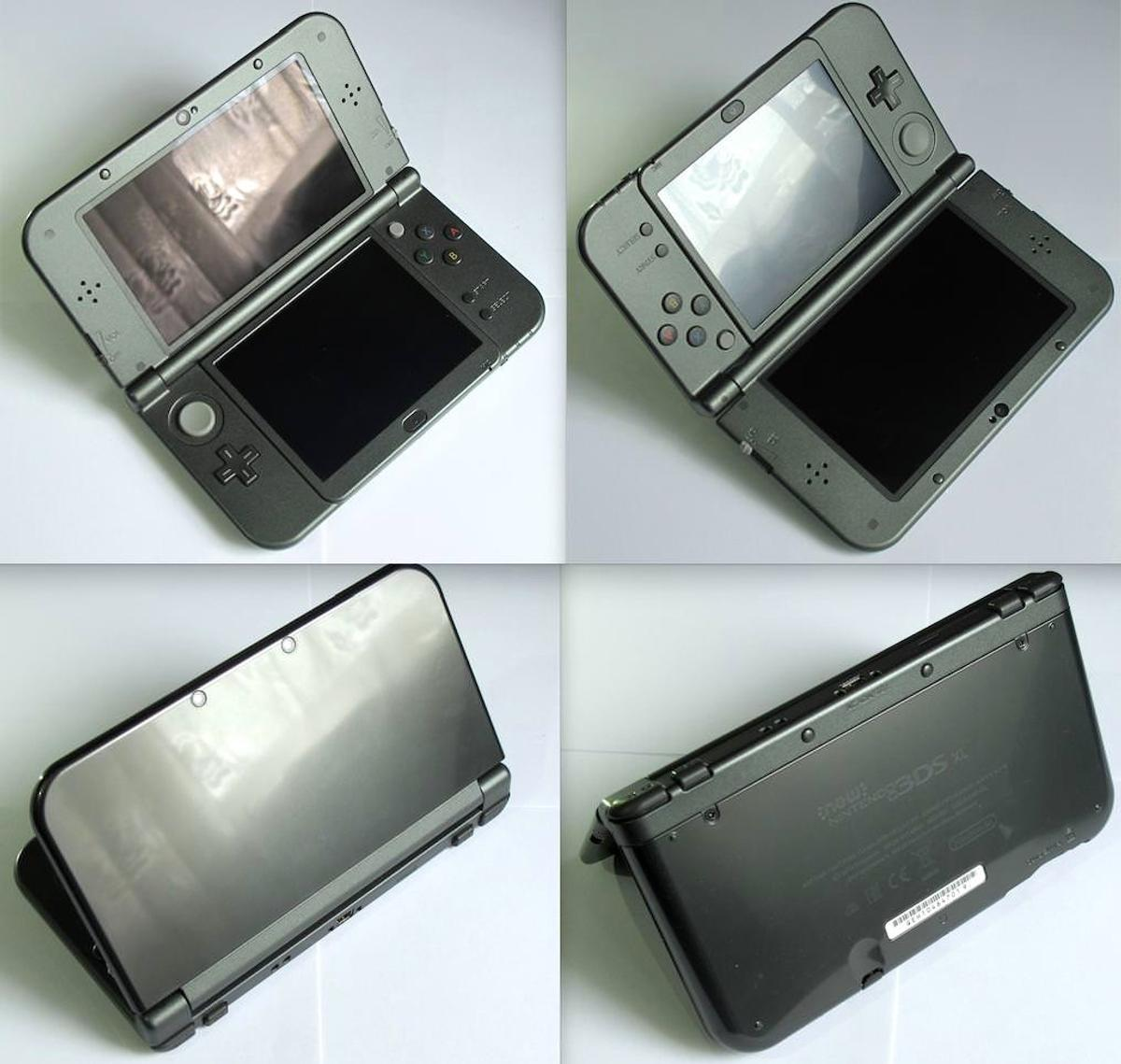 NINTENDO 'New' 3DS XL Black 64GB w/ 130 Games in WC2H