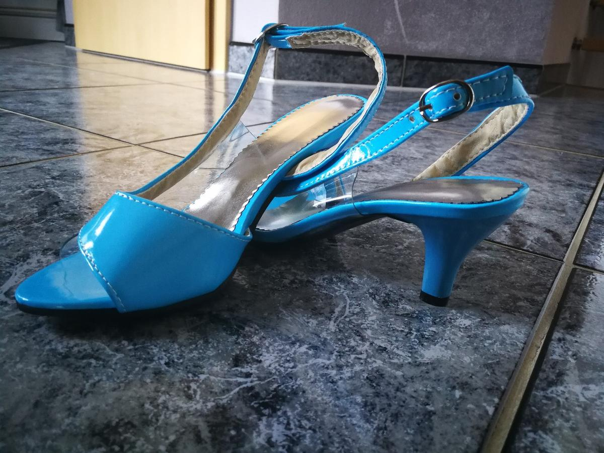 Edle silberne Pumps in 84163 Marklkofen for €14.00 for sale