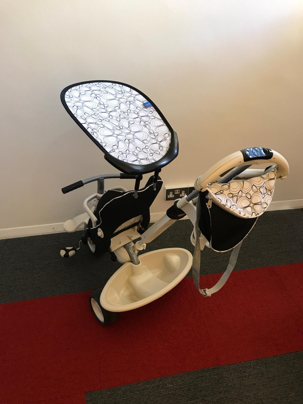 Smart Trike Recliner 4 In 1 Black And White In Br3 Bromley