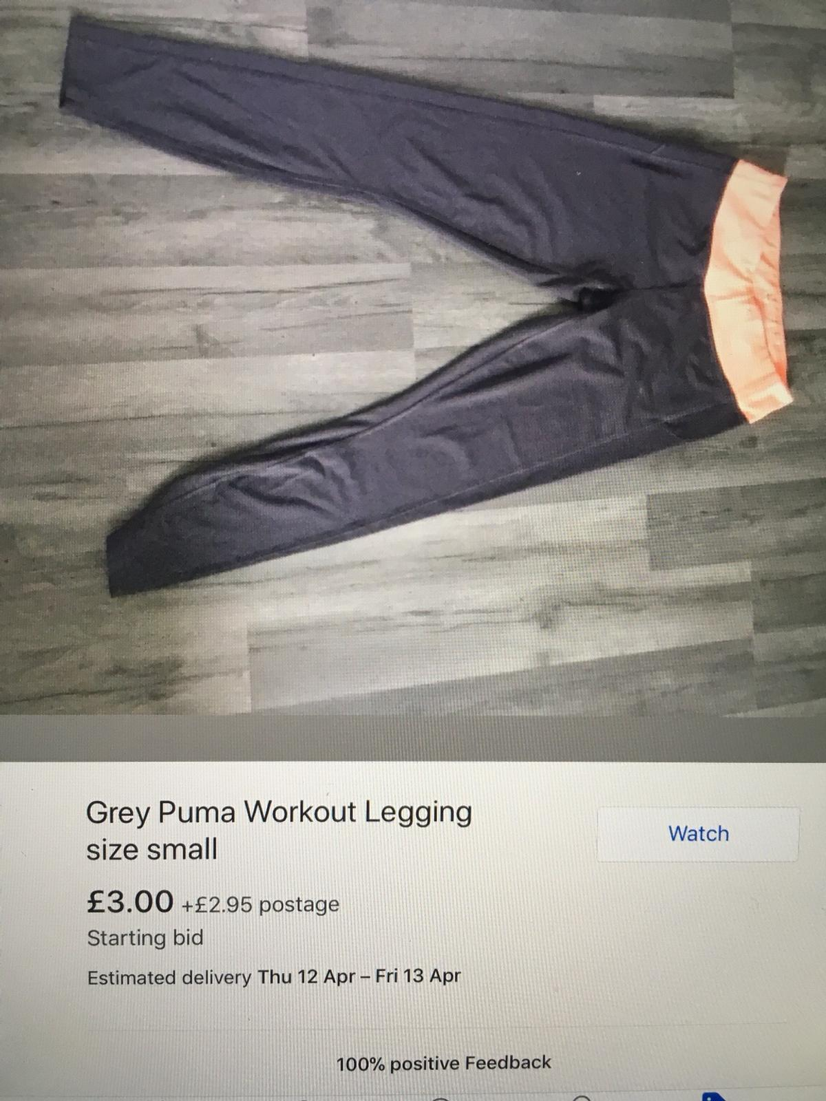 773fccfd53 Puma grey size small work out leggings in SW19 Wandsworth for £3.00 ...