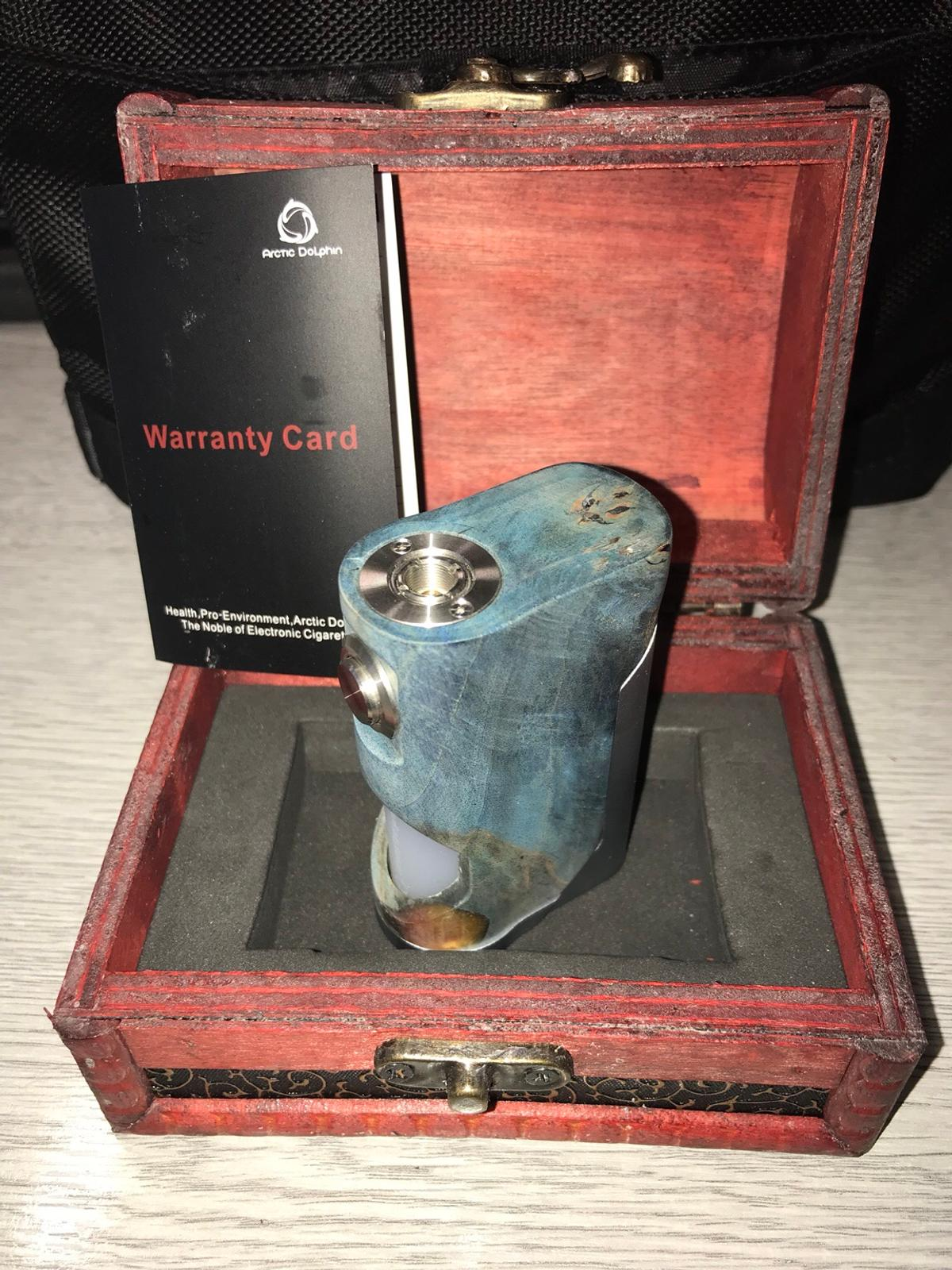 High End Artic Dolpin Soul - mech squonk mod in London for