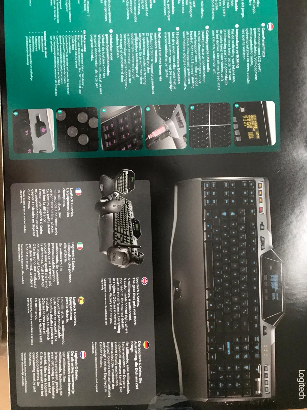 Logitech Gaming Keyboard G510 in S66 Rotherham for £59 99