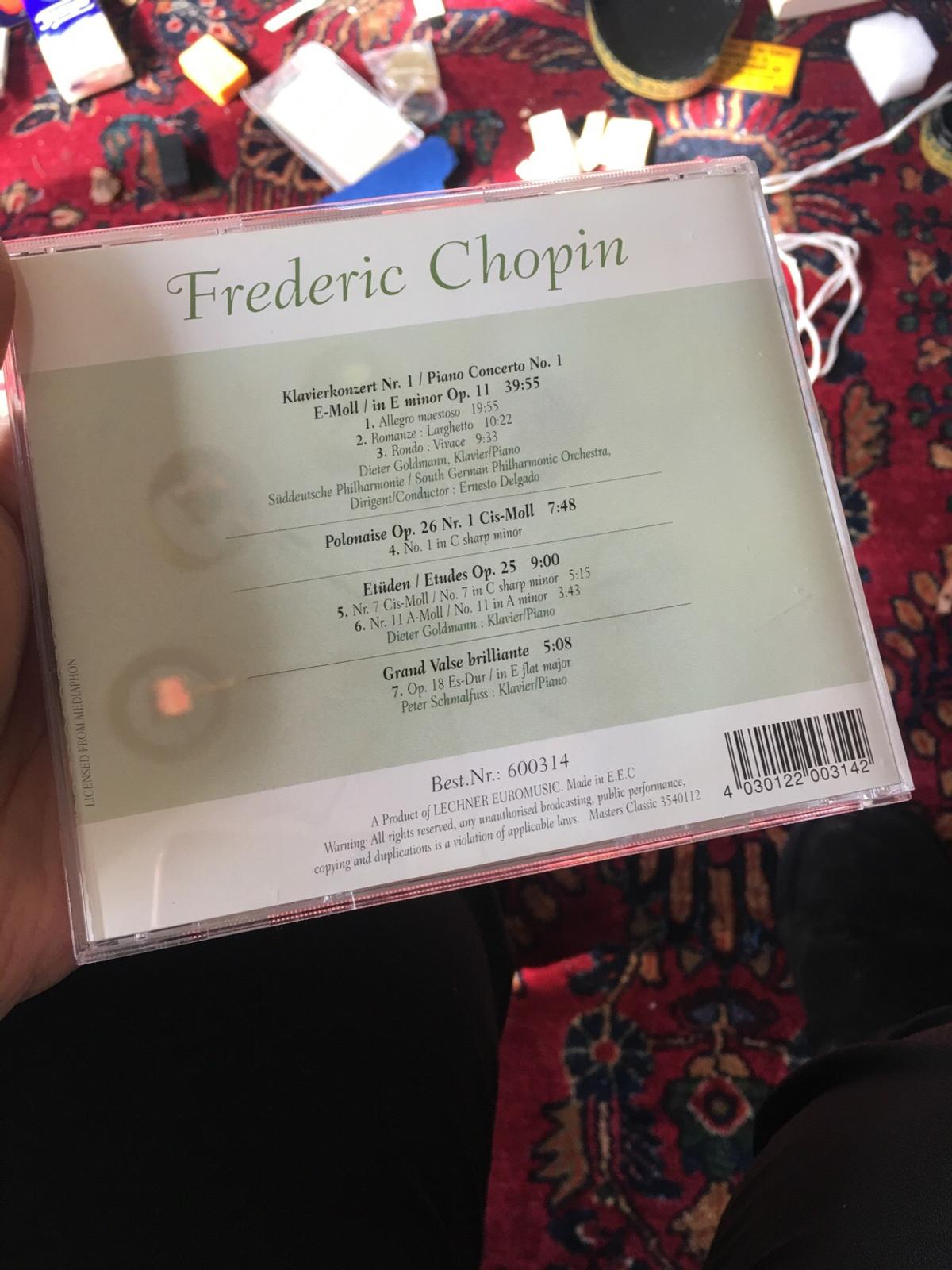 Frederic Chopin CD