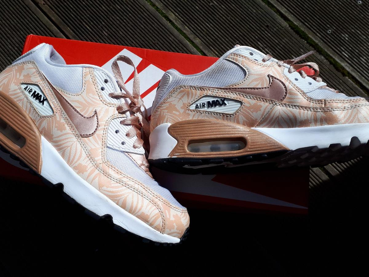 Nike Air Max 90 Mesh Bronze Flower Gr. 38,5 in 76359