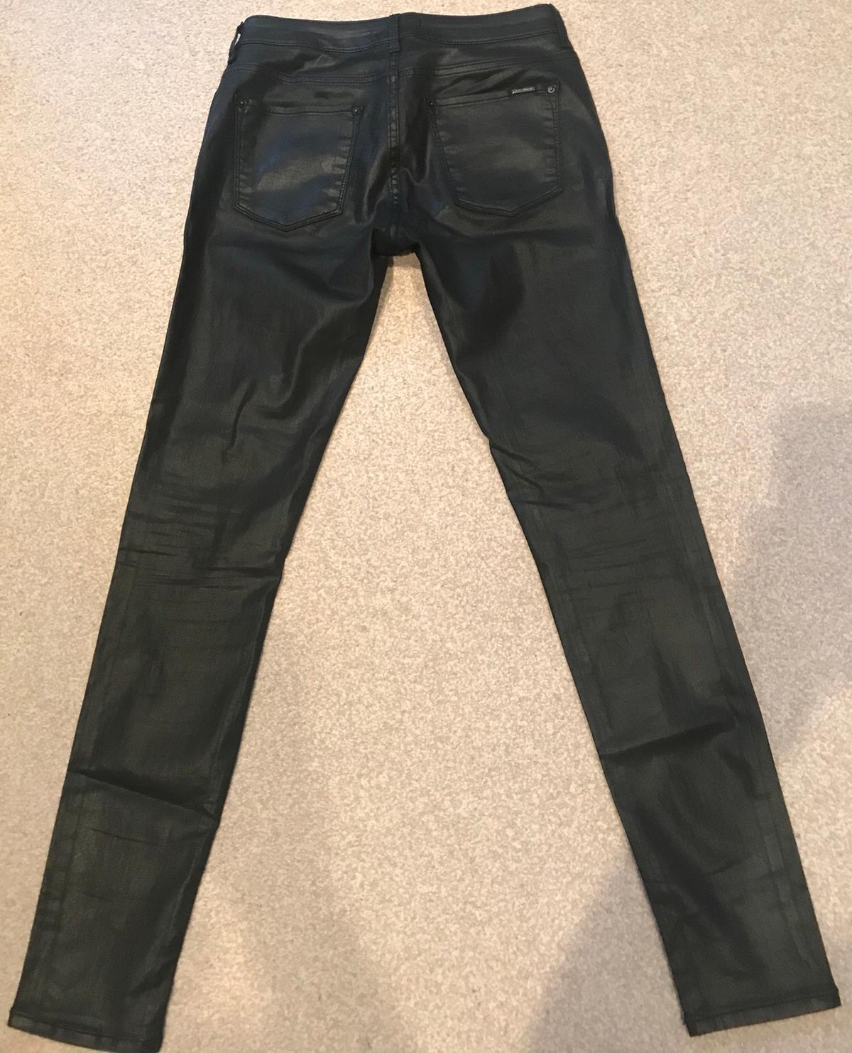 no sale tax new high quality buying new Women Zara leather trousers size 8
