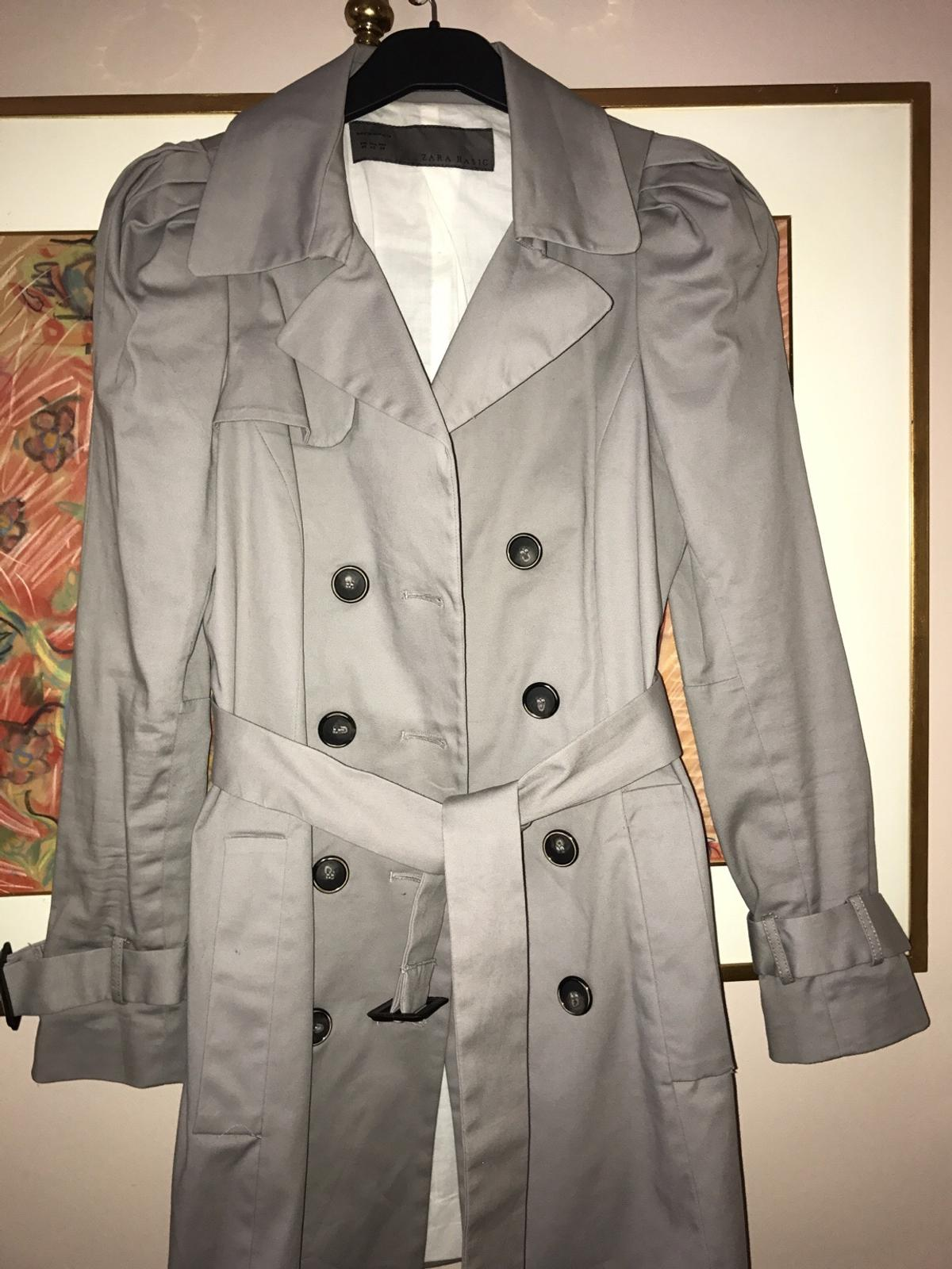 9684d82a Zara light grey coat in W8 Chelsea for £70.00 for sale - Shpock