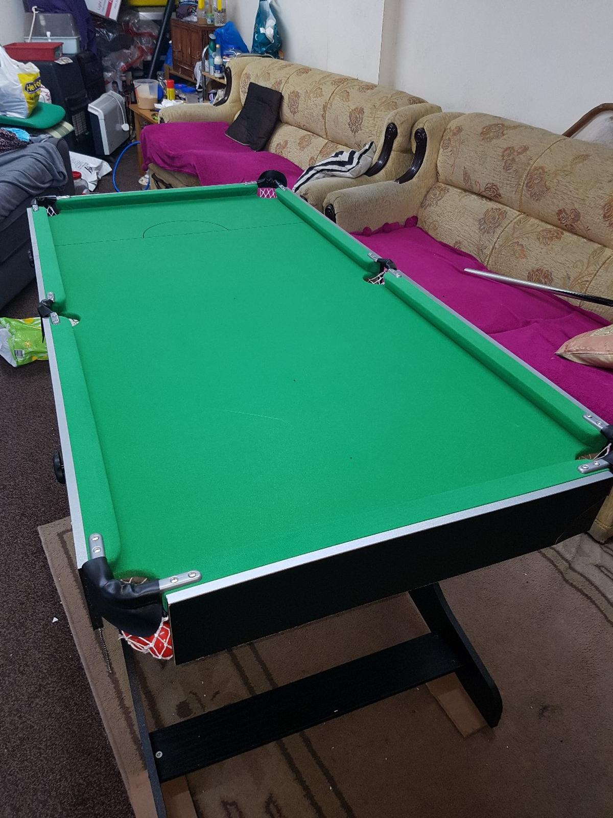 - 5ft Hy-pro Folding Snooker/pool Table In WS10 Walsall Für £ 40,00