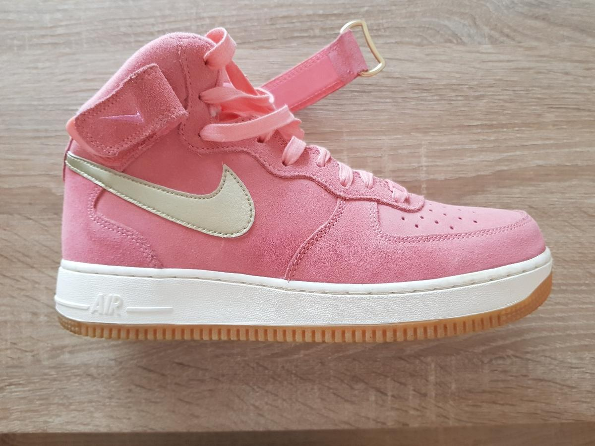 Nike Air Force 1 Wildleder (rosa) in 12627 Hellersdorf für