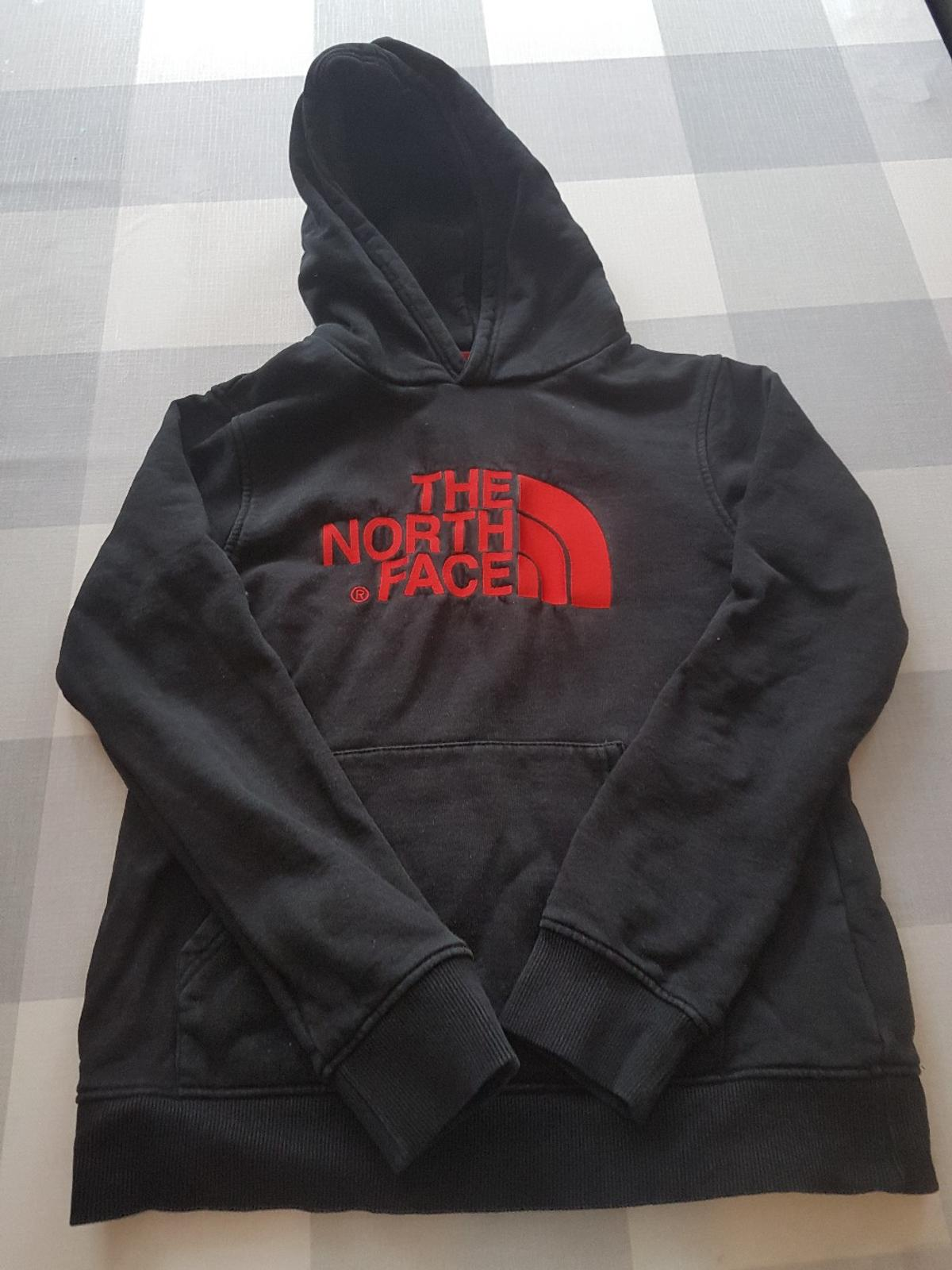 0ee0a8659 North face hoodie junior L/G