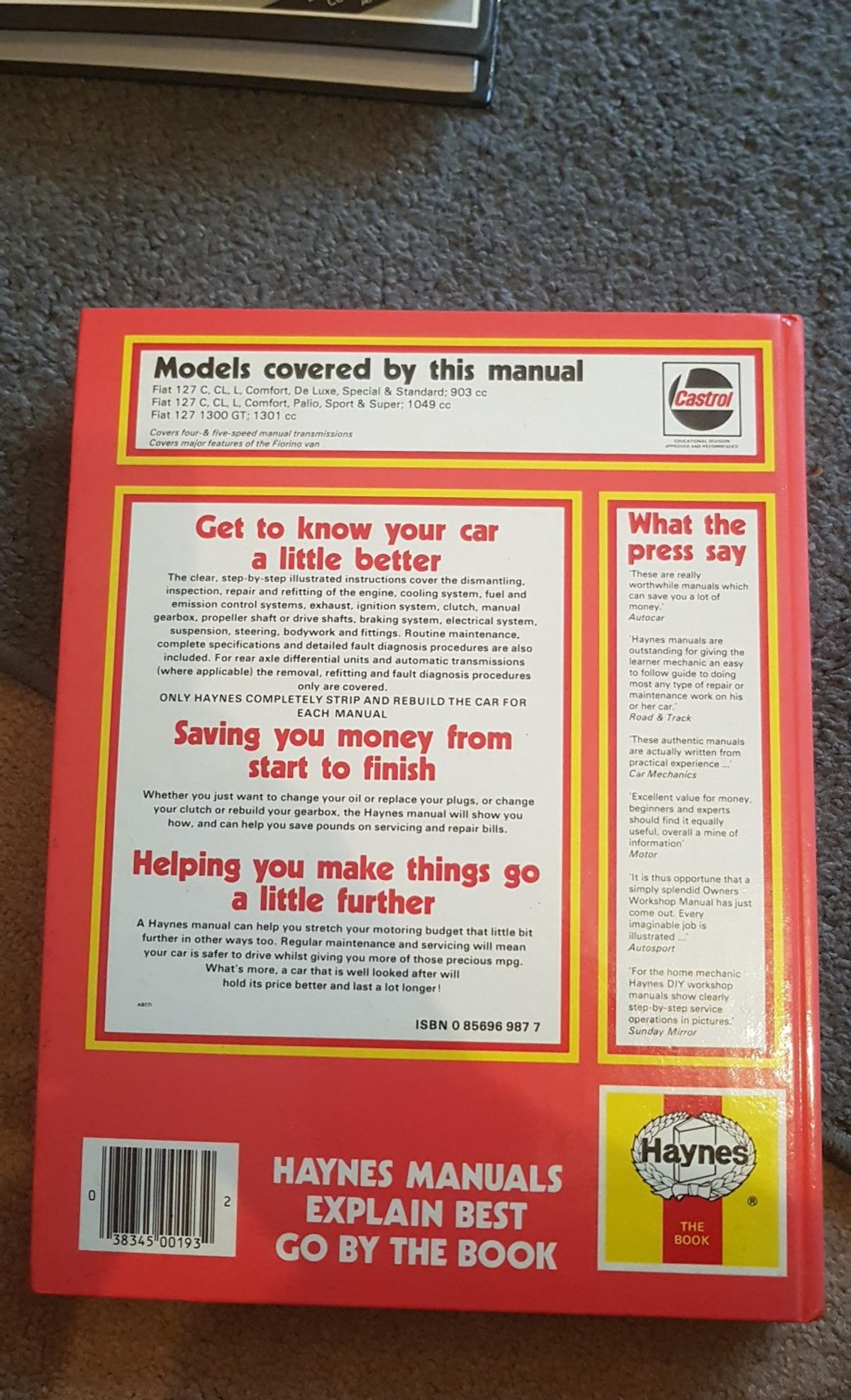 what is a car service manual