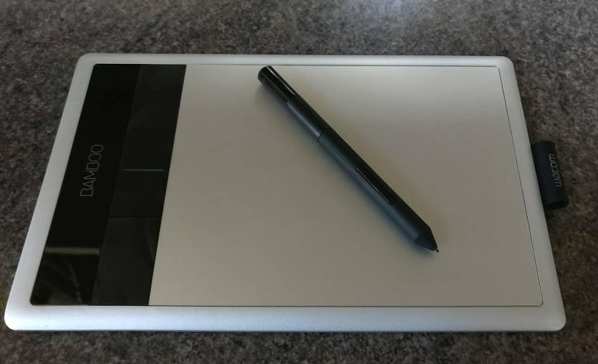 Wacom Bamboo Capture Pen and Touch tablet