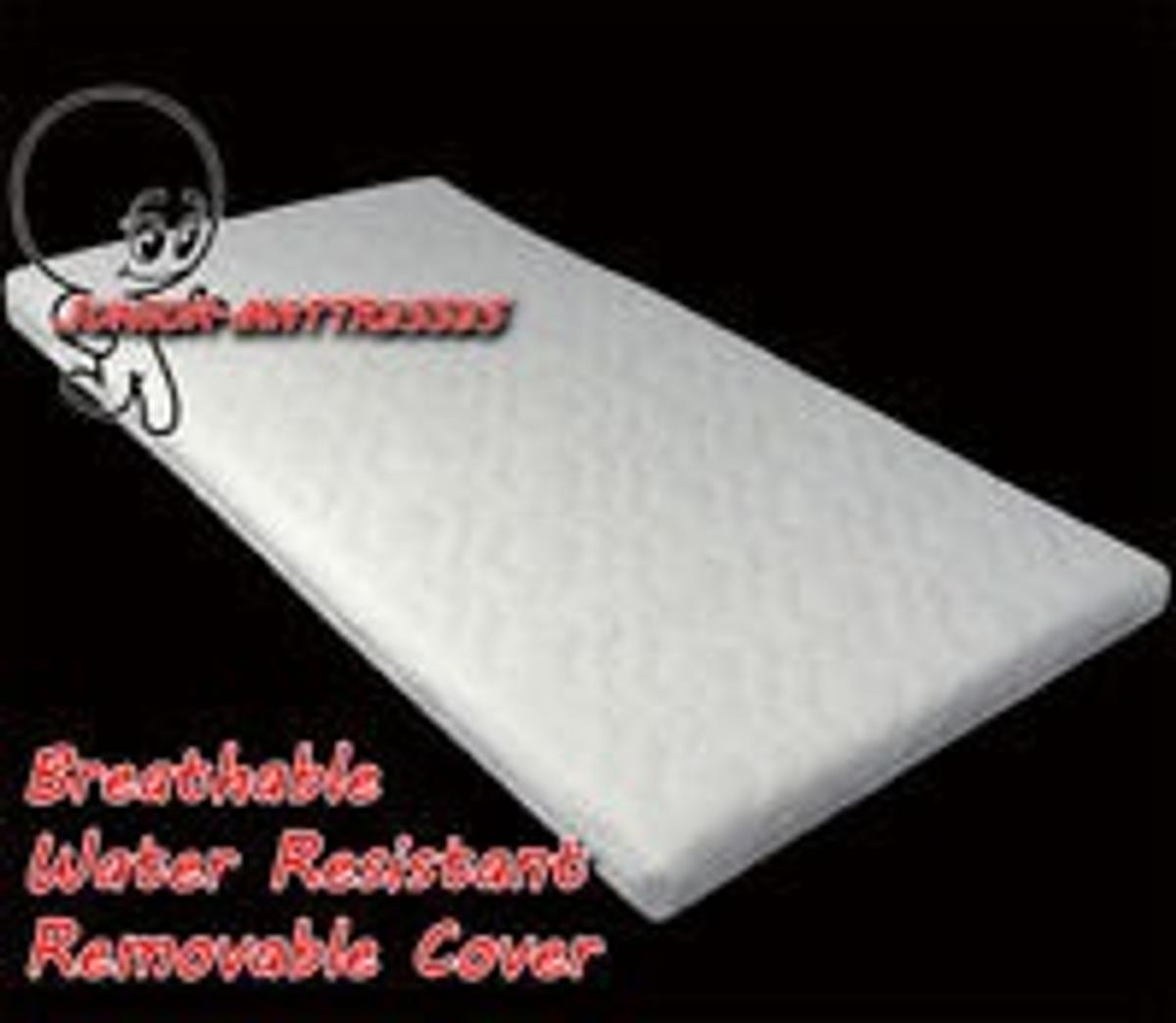 Baby Crib Mattress Cover 4 In Bh14