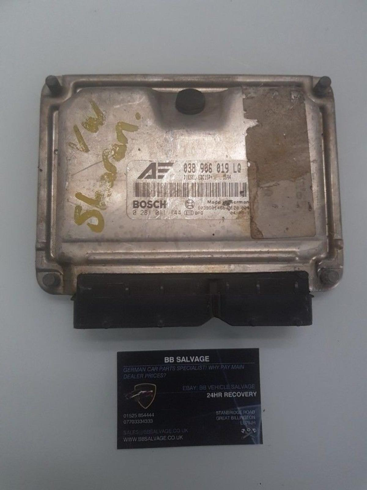 Vw Sharan Engine Control Unit 1 9 Tdi Auto In Great Billington For 50 00 For Sale Shpock