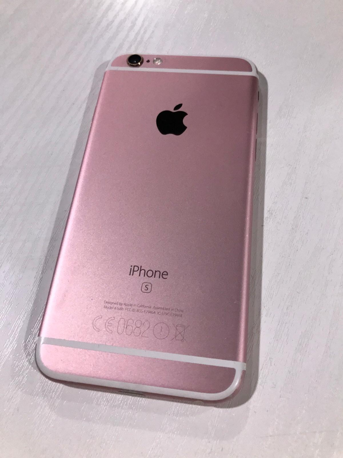 iPhone 6S Rose Gold 16GB Tesco mobile