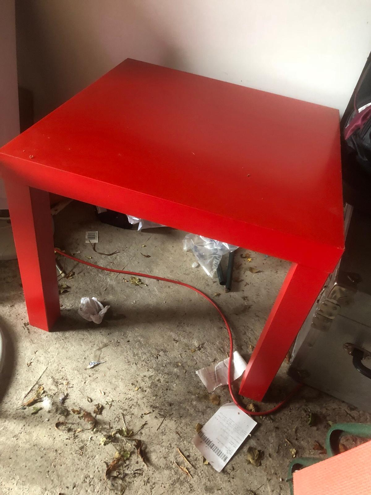 Superb Red Lacquered Coffee Side Table Ikea Gmtry Best Dining Table And Chair Ideas Images Gmtryco