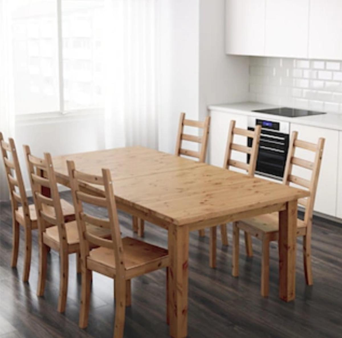 Ikea Dining Table Only Solid Pine