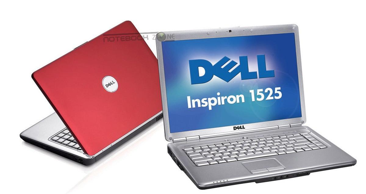 DELL INSPIRON 1525 red Laptop celeron dual 2G