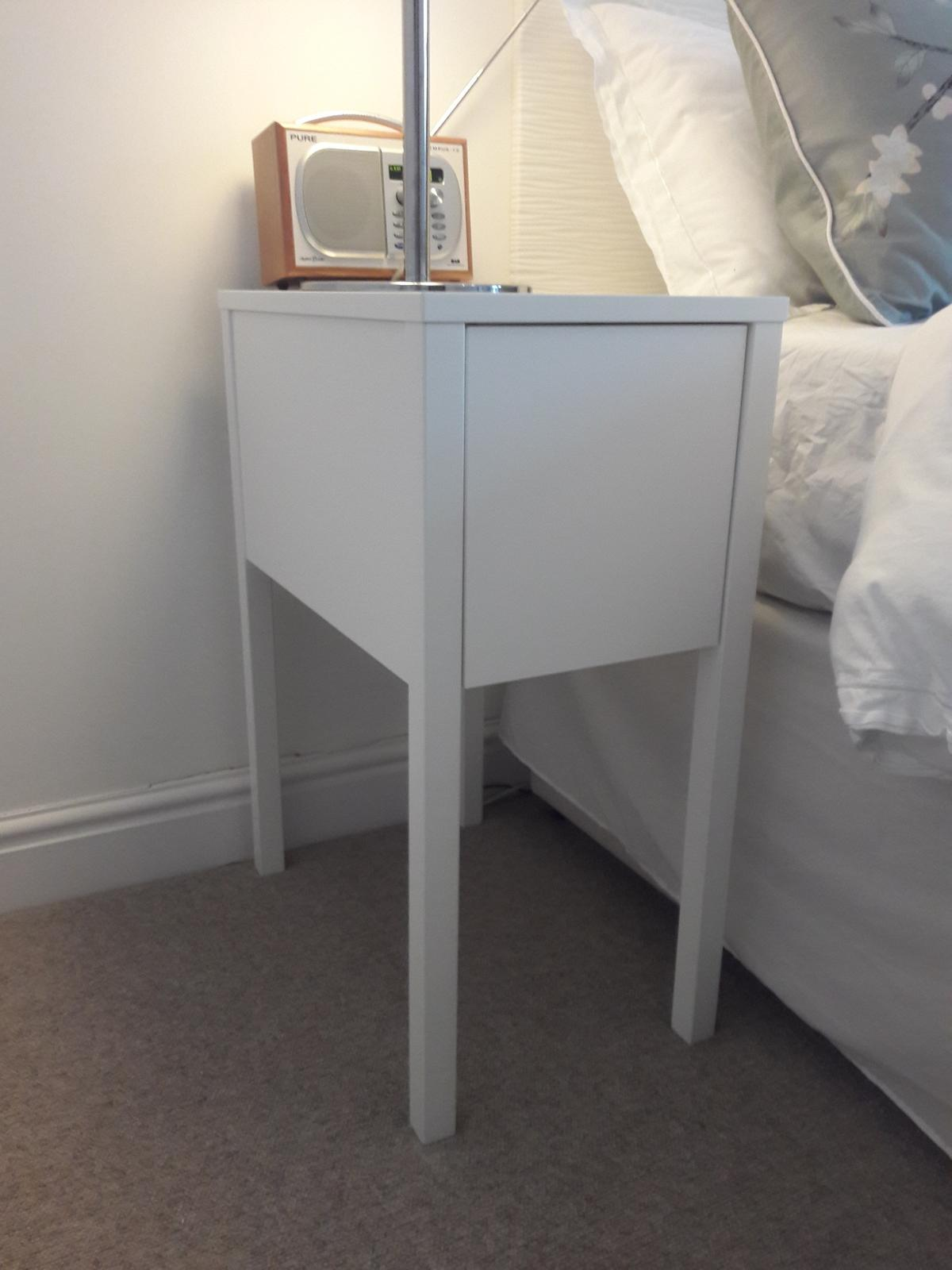 pretty nice 2b2d3 9e729 IKEA Nordli bedside tables x 2 in for £39.50 for sale | Shpock