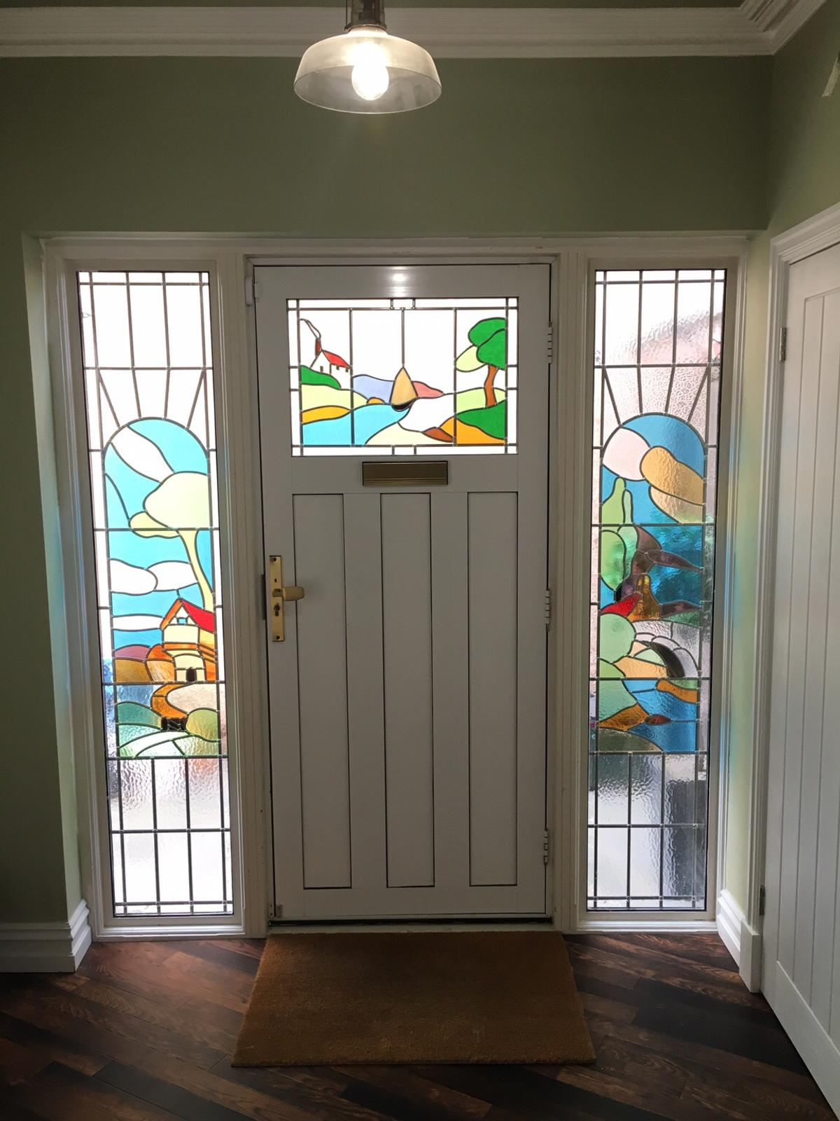 1930 S Stained Glass Front Door Side Panels In Da7 Bexley For 100 00 For Sale Shpock