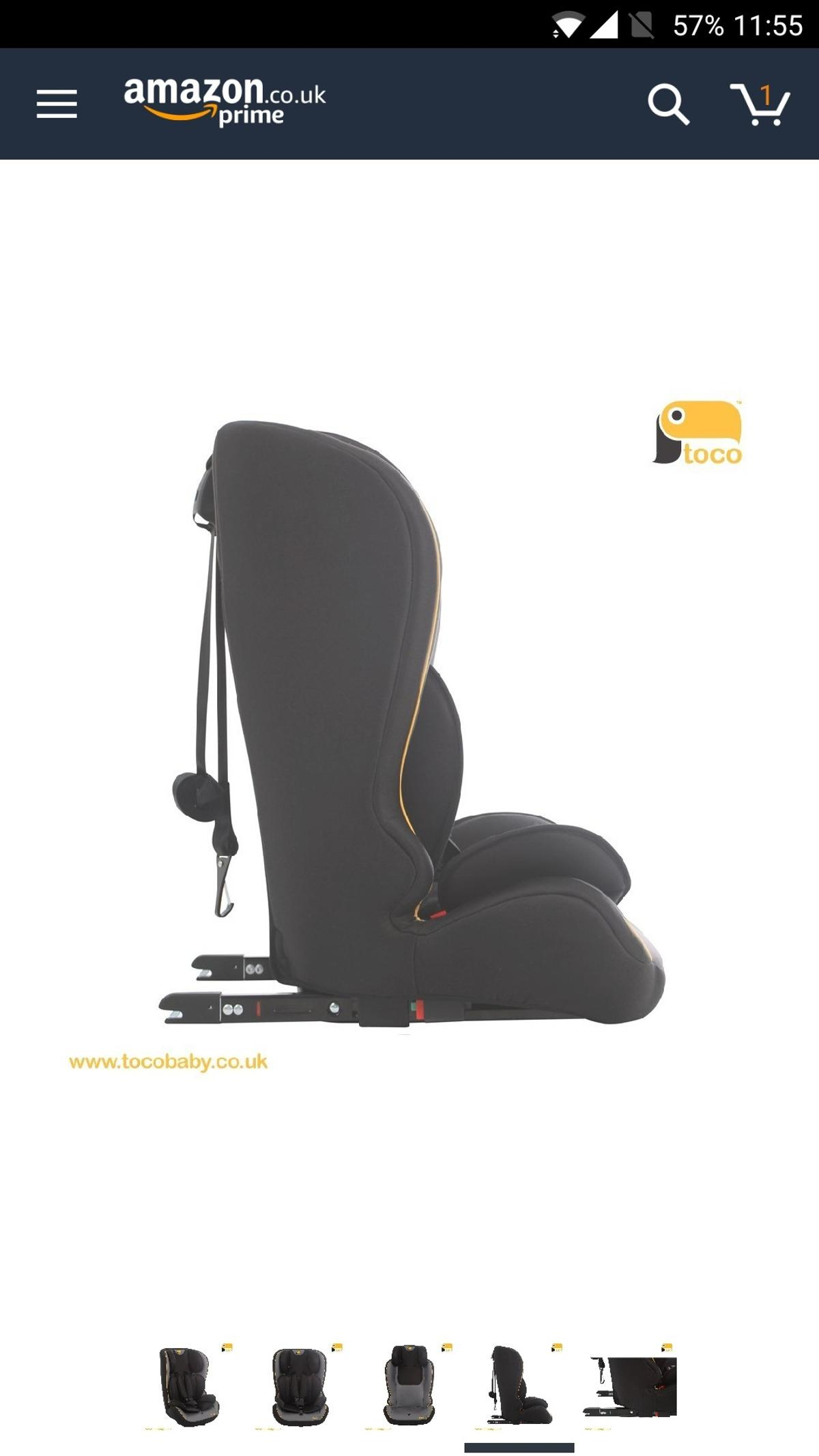 b16616233e20 Toco Looka group 1/2/3 car seat in NN5 Northampton for £25.00 for ...
