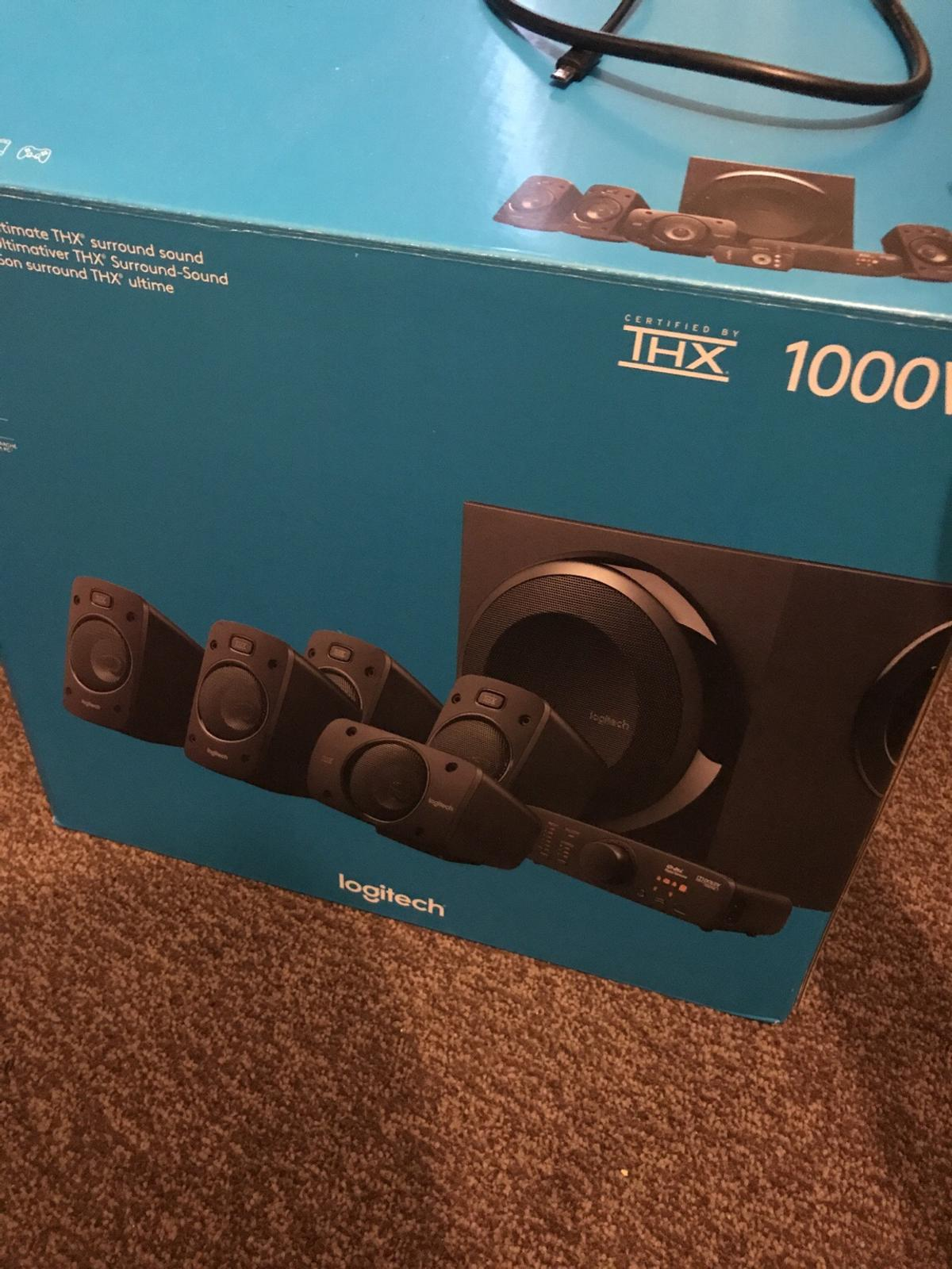 Logitech z906 5 1 surround sound system