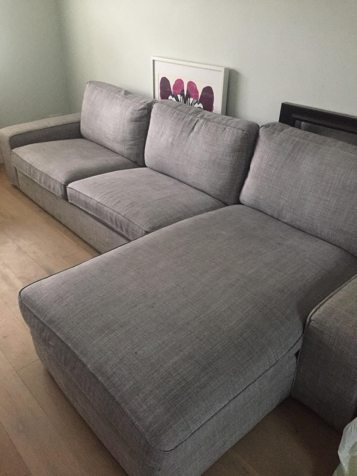 Tremendous 4 Seat Sofa With Chaise Longue Ikea Kivik In N8 Haringey Inzonedesignstudio Interior Chair Design Inzonedesignstudiocom