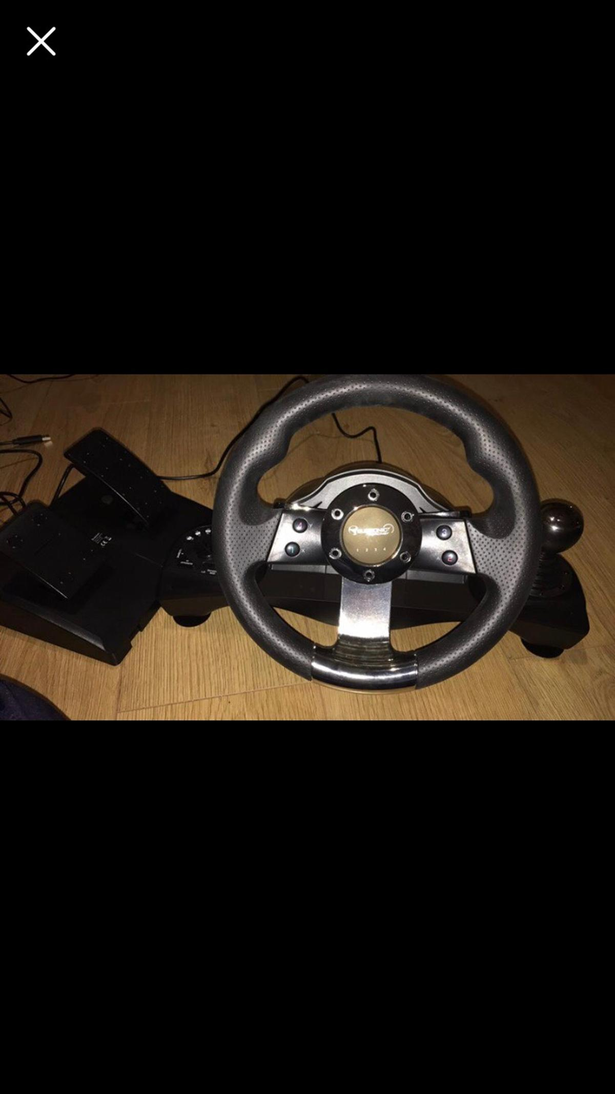 353b4a71b58 Drive steering wheel Xbox one PS4 ps3 in NE6 Tyne for £40.00 for ...