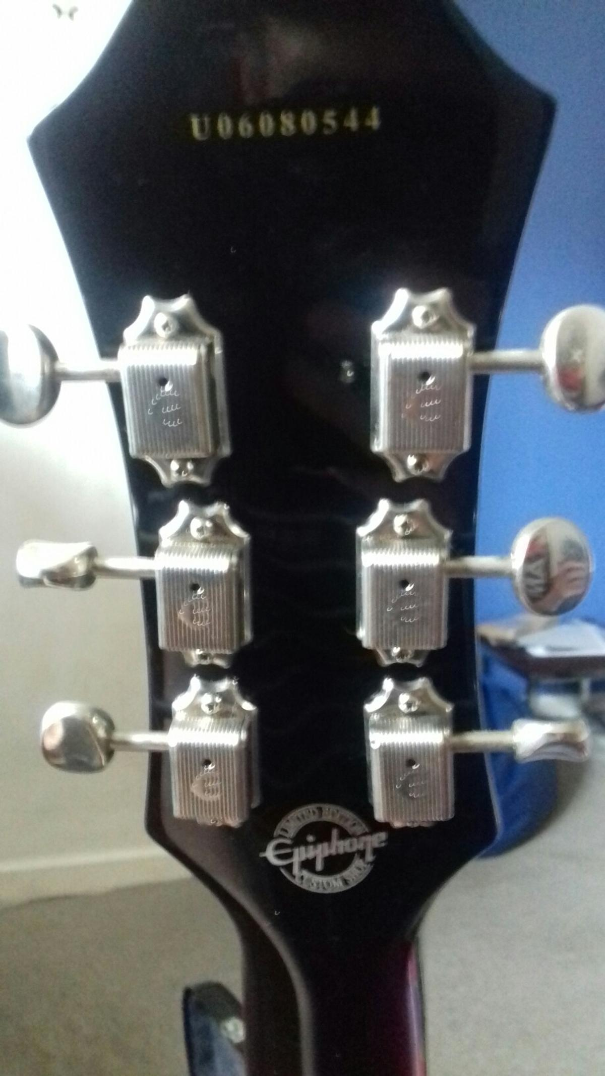 Epiphone casino vintage sunburst with bigsby in GL54