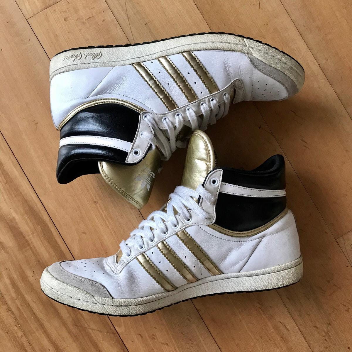 adidas sneakers alte bianche