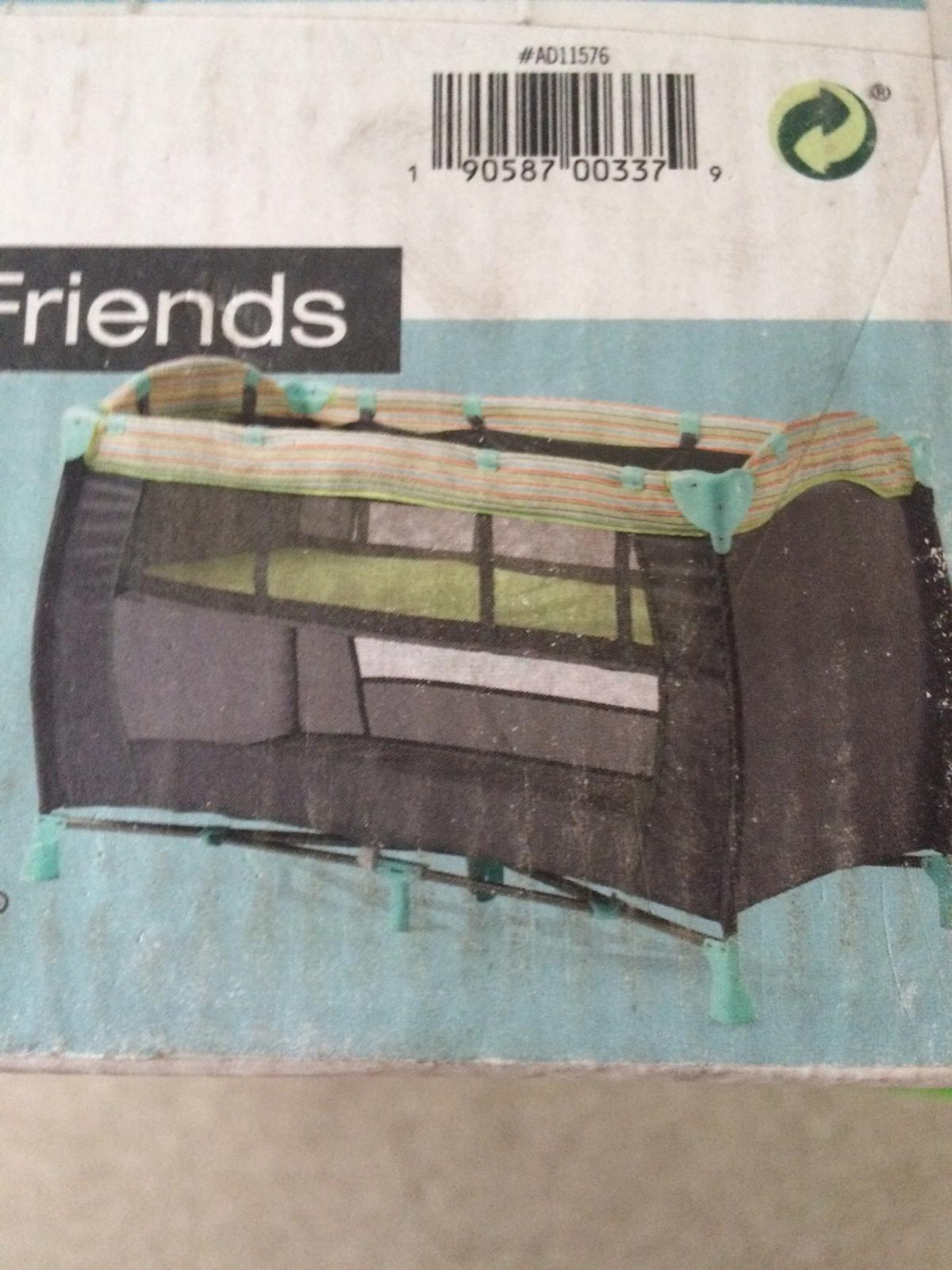 914c7b10a Zobo Woodland Friends Travel Cot in East Tilbury for £20.00 for sale ...