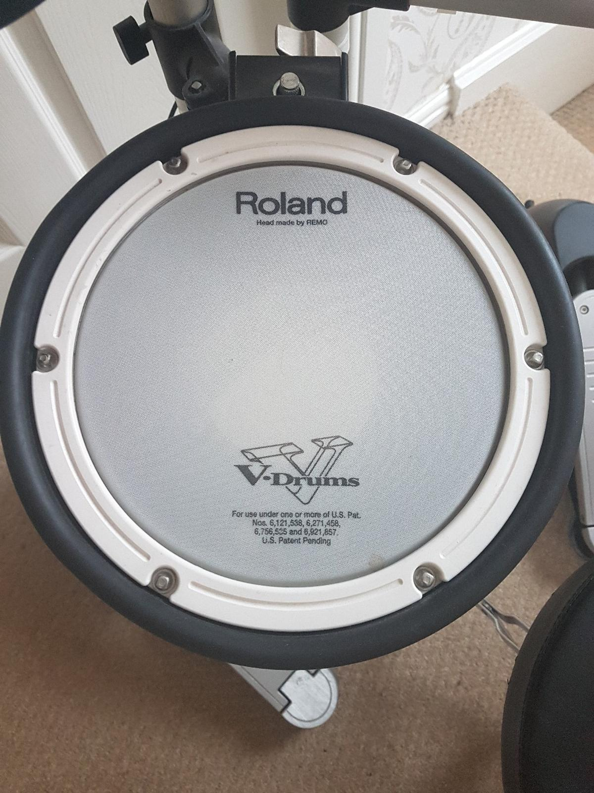 Electric Drum Kit-Roland hd1 v drums lite in South