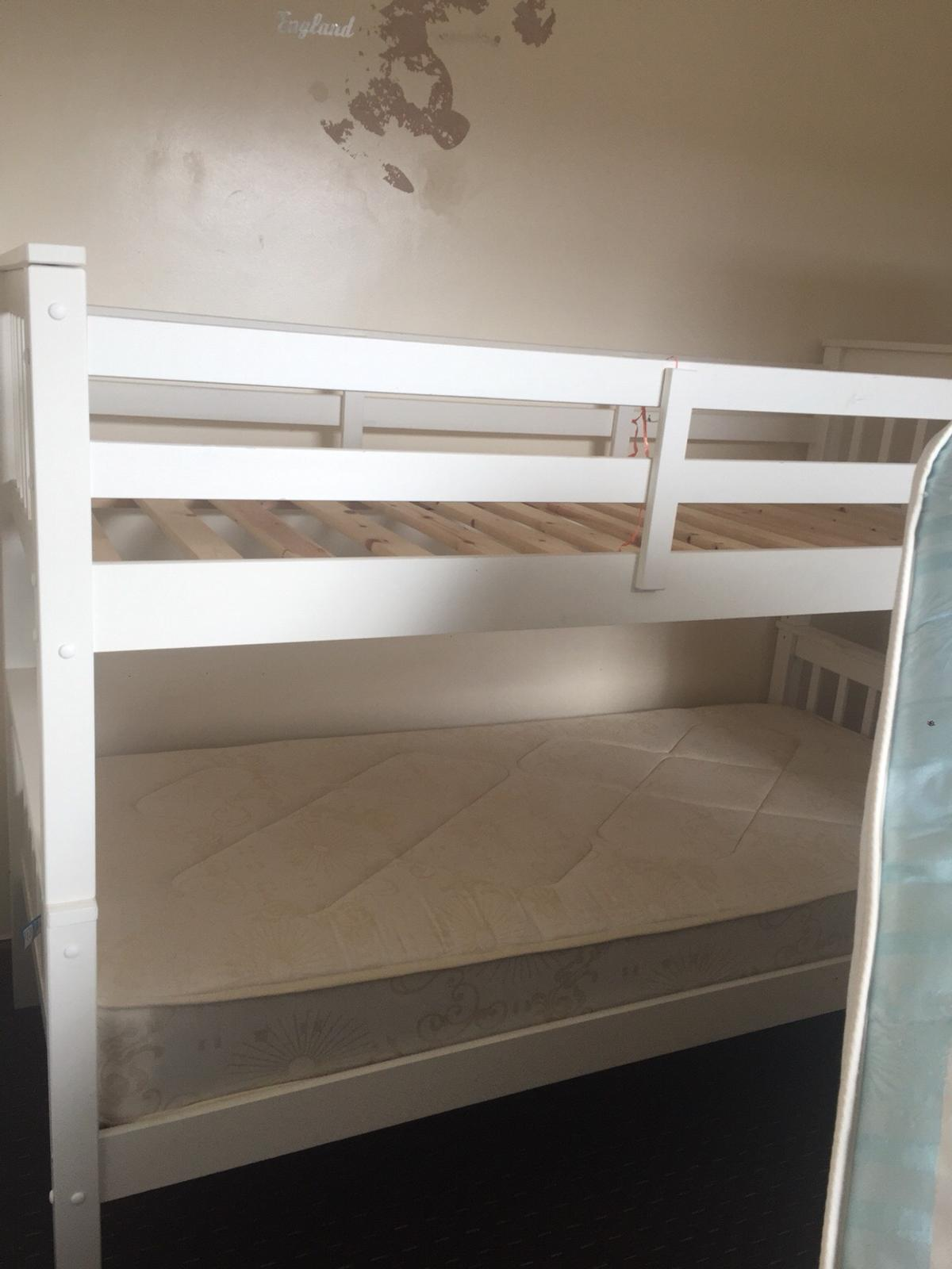 White Wood Bunk Bed In B19 Birmingham For 200 00 For Sale Shpock