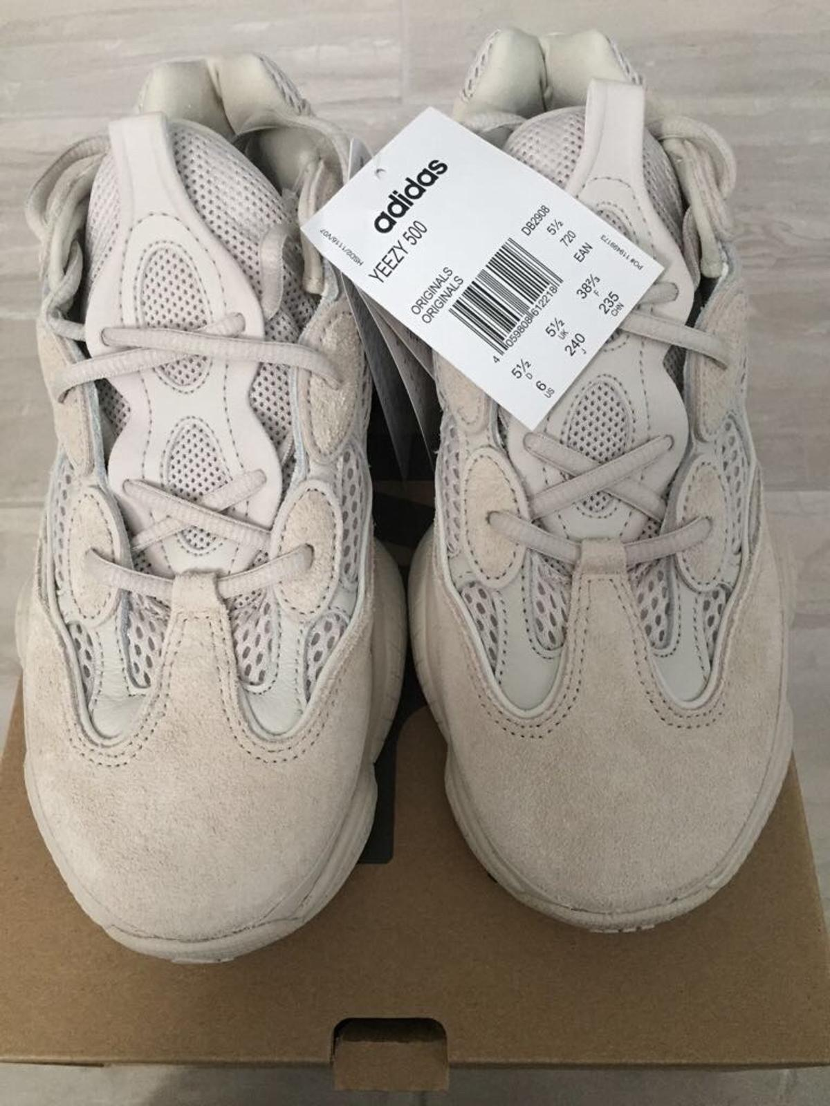 new product 65a72 2107d Yeezy 500 desert rat - Blush - UK 5.5